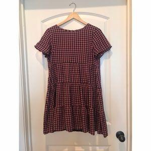 Madewell Tiered Mini Dress EUC